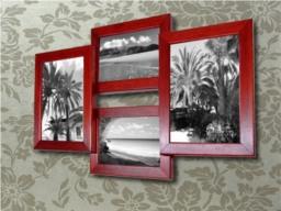 drewniane ramki do zdjęć