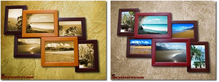 zestawy ramke na zdjęcia - multiramy3D